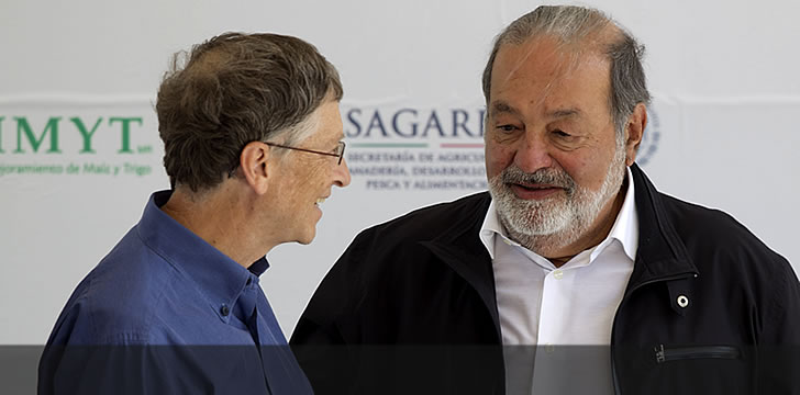 Carlos Slim & Bill Gates Join Forces For Latino Health