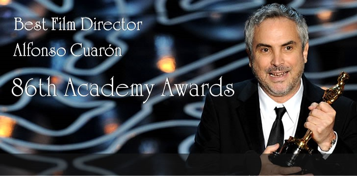 Alfonso Cuarón Wins Oscar for Best Director