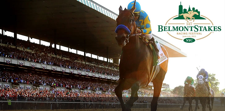 Victor Espinoza rides American Pharoah to win Belmont Stakes and Triple Crown