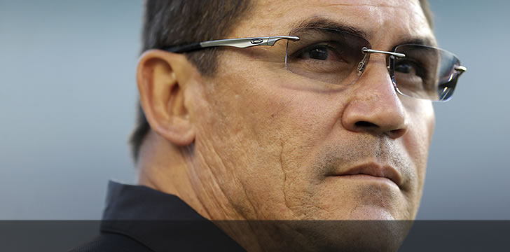 Ron Rivera gets NFL head coach of the year award for second time