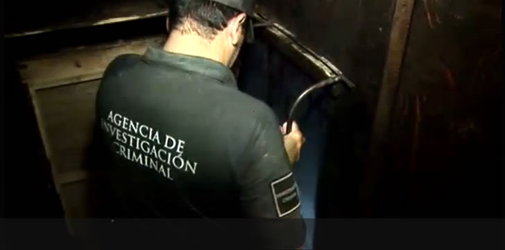 Mexican Security Forces Find Drug Tunnel Under Construction Near Border City