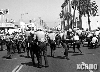 Los Angeels Chicano Moratorium Riot of 1970