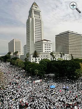 La Gran Marcha - Largest Public Demonstration in U.S. History