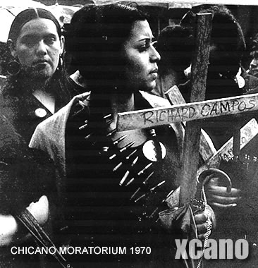1st Los Angeles Chicano Moratorium - February 28, 1970