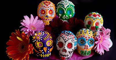 Day Of The Dead: Sugar Skulls Sweeten A Mexican Tradition