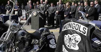 Jury Finds Mongol Nation Biker Club Guilty Of Racketeering