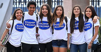 California High School Students Win Battle To Wear Dump Trump T-Shirts At School