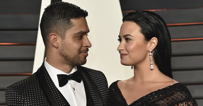 Mexican American entertainment couple Wilmer Valderrama and Demi Lovato