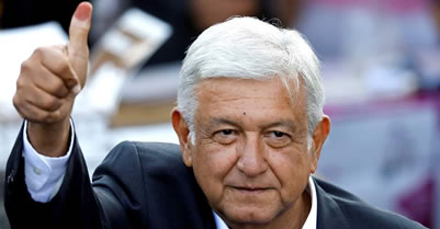 Lopez Obrador scores landslide victory as Mexico votes for change