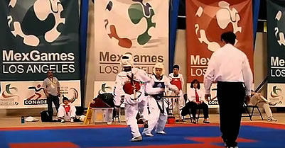 Los Angeles: Young Chicano Athletes Compete In The 'Mex Games'