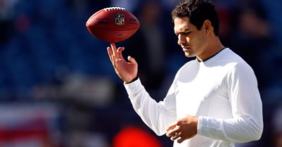 NFL quarteback Mark Sanchez knows more than a word or two in Spanish