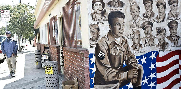 Artist Carlos Aguilar creates massive mural in Santa Ana, four years in the making, sheds light on Mexican-American history