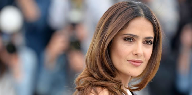 Salma Hayek Says Donald Trump Planted a Tabloid Story About Her After She Refused to Date Him