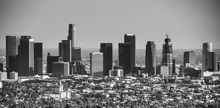 Downtown Los Angeles skyline 2016