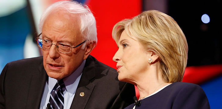 Poll: Latino Voters Near Evenly Divided Over Clinton, Sanders