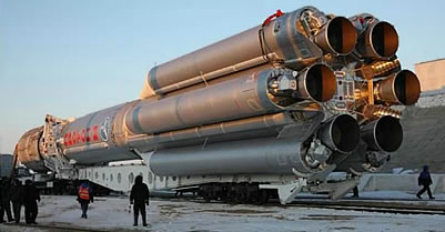 Proton-M Rocket Carrying Mexican Satellite Crashes in Siberia
